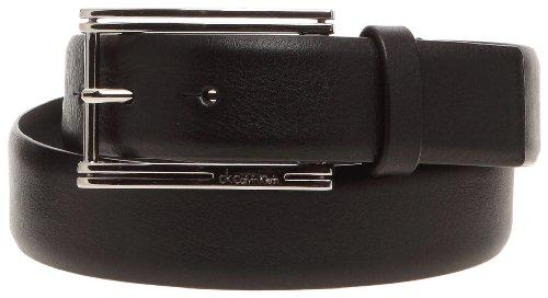 Calvin Klein K72293, Ceinture homme - Noir, Cuir 904b31ed43b