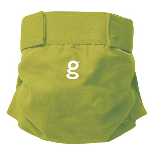 gDiapers - Culotte Little gPant - Guppy Green - Large