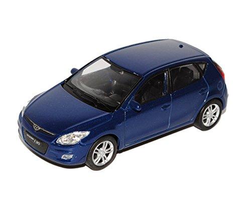 hyundai-i30-blau-5-turer-fd-2007-2012-ca-1-43-1-36-1-46-welly-modell-auto-mit-individiuellem-wunschk