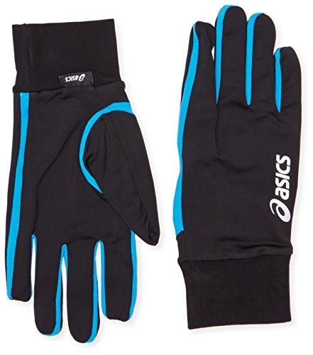Asics Basic Handschuh Small blau / grau (Handschuhe Running Asics)