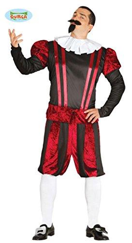 Kostüm für Herren Herrenkostüme mehrfarbig Gr. M-L, Größe:L (Gastwirt Kostüm)