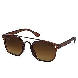 e43738b6e48 72%off Laurels Maestro Men Brown Color Wayfarer Sunglass (LS-MAS-090909)