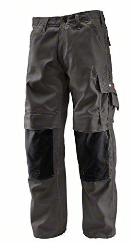 Bosch Professional 0618800201 WKT 010 Pantaloni con Ginocchiere ,Grigio, Taglia del produttore: 50