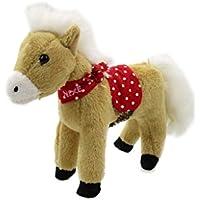 Kleines Plüsch Pferd mit Soundmodul beige Nixe von Spiegelburg