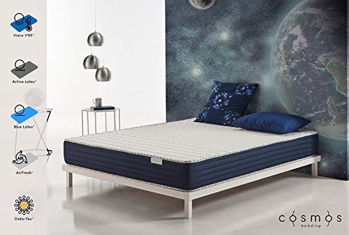 Matelas Orbit - Mousse à mémoire de Forme - Mousse Blue Latex et Active Latex HR - 20 cm - 140 x 190 cm