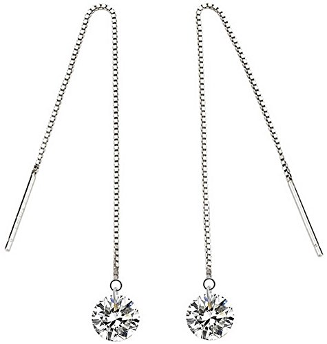 mujeres-cristal-zona-larga-joyfulshine-staple-threader-pendientes-de-plata-925-color-blanco