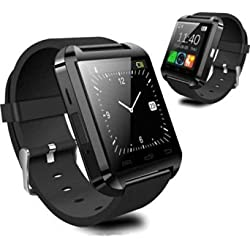 Wearable Smartwatch Bluetooth 3.0 EDR CEStore Luxury U8 Touch Screen Wireless Wrist Watch Phone Mate Handsfree Call For Smartphone Outdoor Sports Pedometer Recording MMS SMS Stopwatch-Black
