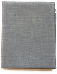 Raymond Men's Unstitched Trouser Fabric (Smoke Grey, 1.3 m)