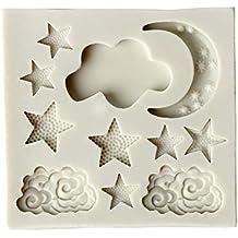 Da.Wa - Molde de silicona para tartas, para decoración de fondant, con