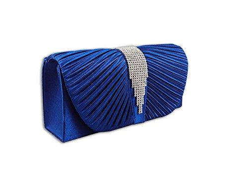 XPGG - Borsetta senza manici donna Nero (blu)