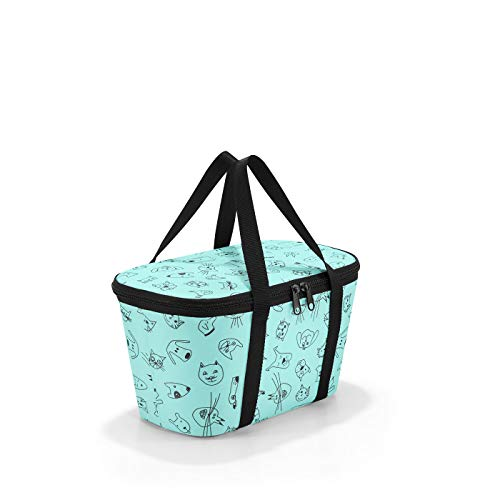 Reisenthel coolerbag xs Cats and Dogs Kinder-Sporttasche 28 cm, 4 L, Mint