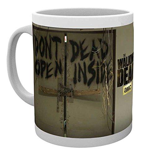 empireposter - Walking Dead, The - Dead Inside - Größe (cm), ca. Ø8,5 H9,5cm - Lizenz Tassen, NEU...