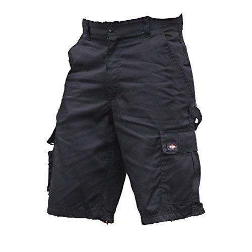 Lee - Pantaloni Corti Cargo Cooper - Uomo (Girovita 86cm) (Nero)