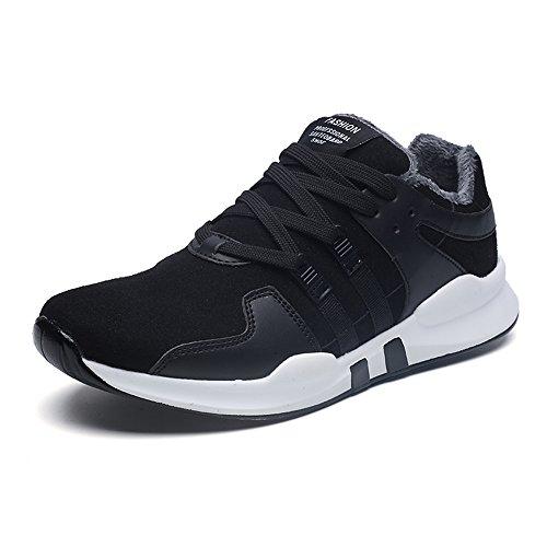 Feifei Scarpe Da Uomo Movimiento De Invierno Al Aire Libre Mantenga Caliente Correr Zapatos 3 Colores (colore: 01, Dimensioni: Eu39 / Uk6.5 / Cn40) 01