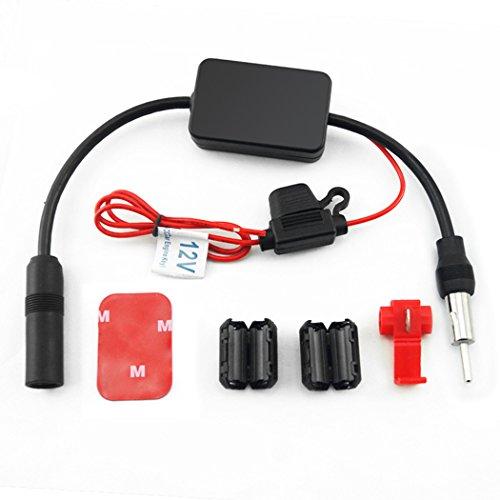 Auto Signalverstärker, Fansport Auto Antennen Booster Radio AM FM Signalverstärker für LKW Auto