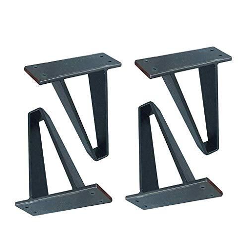 LING AI DA Mai 4 STÜCKE metallfuß möbel Beine Sofa Beine fernsehschrank Bett couchtisch füße schwarz langlebig schwarz, geeignet für Sofas, betten, schränke und andere möbelfüße