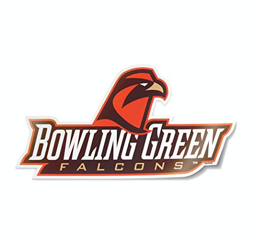 Nudge Printing NCAA Collegiate Autoaufkleber, Bowling Green State University Falcons