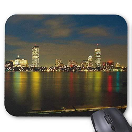 Wristband Boston Mousepad Computer Accessories Anti-Friction 18X22