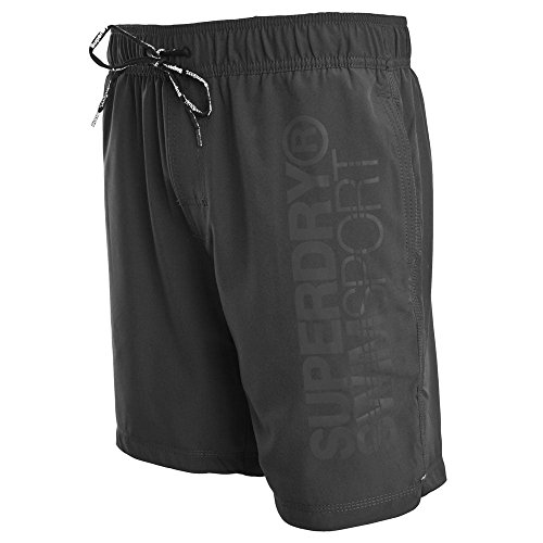 Superdry Sport Volley Swim Shorts Carbon Grey Carbon Grey