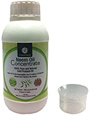 OrganicDews Neem Oil Concentrate for Plants 250 ml with Measuring Cup 25 ml
