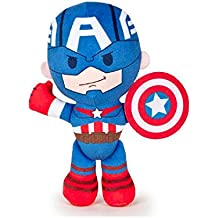 Los Vengadores (The Avengers - Marvel) - Peluche Capitan America 21cm calidad super soft