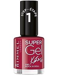 Rimmel London Super Gel Kate Moss Duo Pack Vernis à ongles teinte 12, Nude