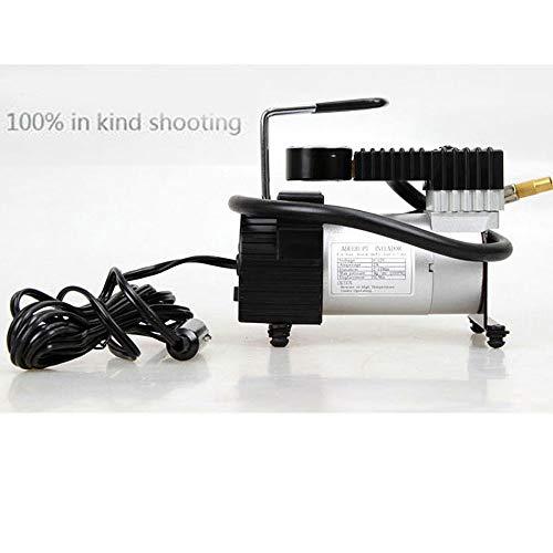 YouXiu Pompa di gonfiaggio per Pneumatici Pompa di gonfiaggio per Pneumatici ad Alta Potenza per Singolo Cilindro Pompa di gonfiaggio per Pneumatici Compressore d'Aria Pompa pneumatica,XS