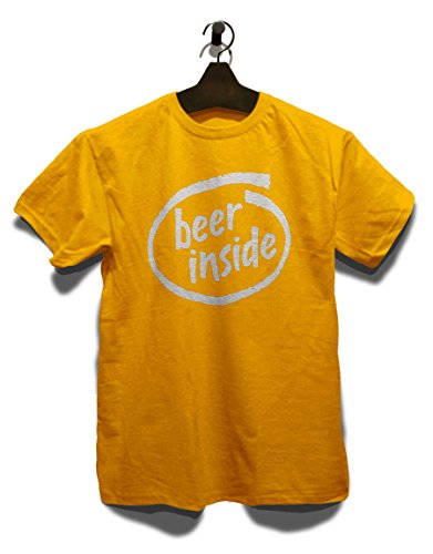 Beer Inside T-Shirt Gelb
