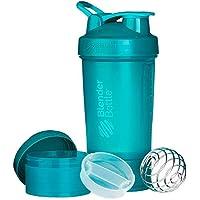BlenderBottle ProStak Full Color Botella de Agua y Accesorios, Unisex Adulto,  Verde azulado, 650 ml