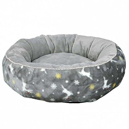 Trixie Xmas Rudolf Dog Bed Diameter 50 cm Grey 1