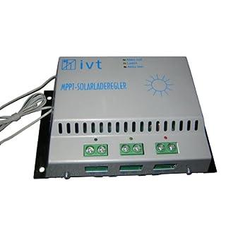 IVT 200027 MPPT-Solarladeregler 20A für höhere Energieausbeute Ladegerät für Solarbatterien