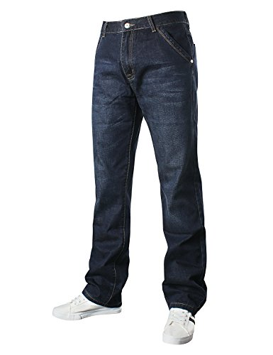 Demon&Hunter 809 Relaxed Series Men's Loose Fit Relaxed Jeans