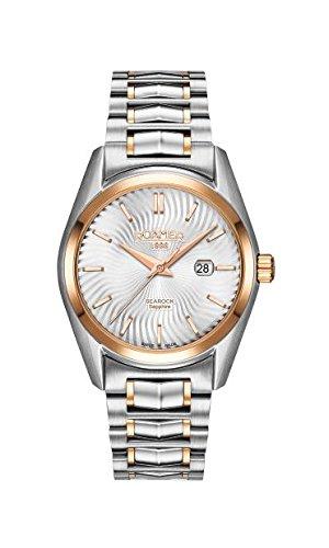 Roamer–Reloj de Cuarzo para Mujer con Esfera analógica y Plateado Correa de Acero Inoxidable de Dos Tonos 203844490520