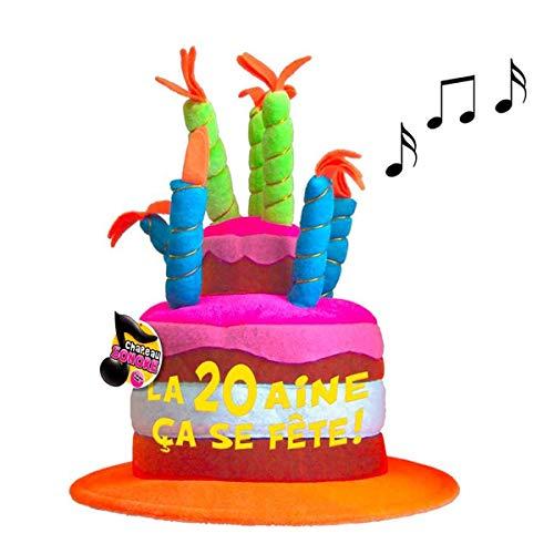 Les Trésors De Lily [Q5466 - Gorro cumpleaños Musical