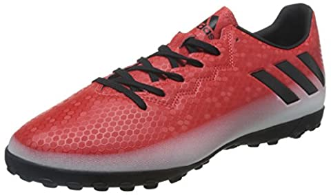 adidas Messi TF, Chaussures de Football Homme, Multicolore (Red/Core Black/Ftwr White), 40 2/3 EU