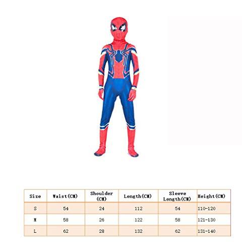 YUNMO Spider-Man-Jungen verkleiden Sich mit Maske (größe : ()