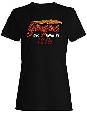 Gingers nacen en 1975 camiseta de las mujeres c276f