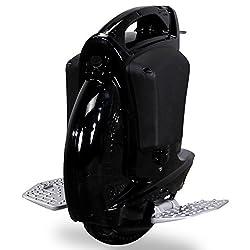Actionbikes Solowheel SUPER Wheel - Elektrisches Einrad Segway Freego Balance Scooter (schwarz)