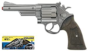 Gonher - 6067/0 - Revolver - Police - 12-coup - argent