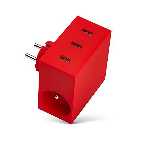 usbepower-chargeur-secteur-avec-3-ports-usb-pour-smartphone-rouge