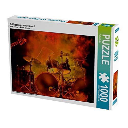 CALVENDO Puzzle Schlagzeug - einfach cool 1000 Teile Lege-Größe 64 x 48 cm Foto-Puzzle Bild von Peter Roder