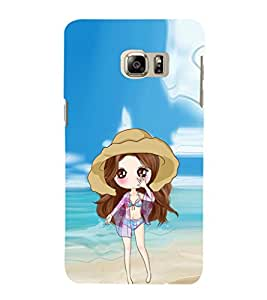 EPICCASE sexy doll Mobile Back Case Cover For Samsung Galaxy Note 5 Edge (Designer Case)