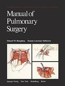 Utorrent Para Descargar Manual of Pulmonary Surgery (Comprehensive Manuals of Surgical Specialties) Epub Libres Gratis
