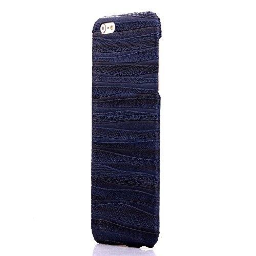 iPhone 6Cas, de haute qualité de luxe mignon coloré confortable Etui Housse pour Iphone 6Coque 11,9cm bleu