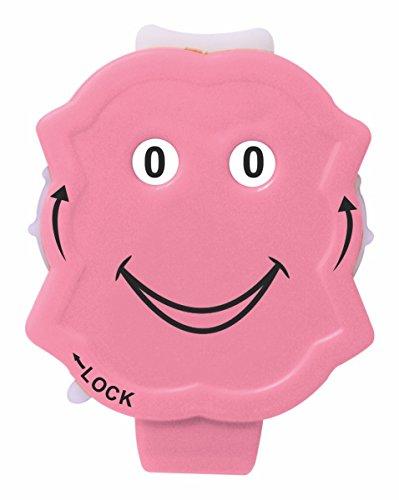 KnitPro New Clicky Reihenzähler, Kunststoff, pink, 5.5 x 4 x 1.2 cm -