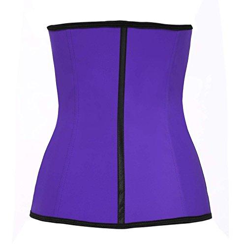 GGTBOUTIQUE Damen Taillenmieder Mehrfarbig Mehrfarbig Mehrfarbig - Violett