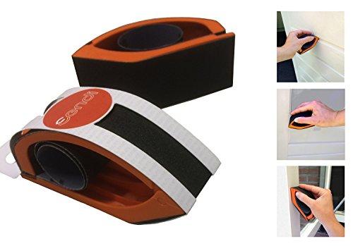 Sendi Schleifklotz Hand-Schleifblock für Holz, ergonomisches Design. Die bequeme Arbeitshilfe mit...