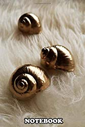 """Notebook: We Just Love To Paint Snails Shells We Found In The For , Journal for Writing, College Ruled Size 6"""" x 9"""", 110 Pages"""