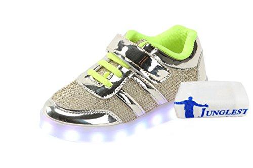 [+ Toalha Pequeno] Novas Lâmpada Led Luzes Sapatos Homens E Mulheres Coreanas Usb Cobrando C1 Peneira Fluorescente Emissor De Luz