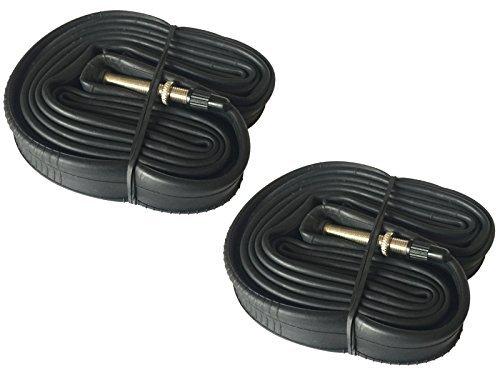 Preisvergleich Produktbild 2x MOUNTAIN BIKE CYCLE Inner Tubes 26x 1.75–2.125mit Presta-Ventil